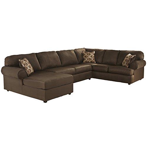 Groovy Flash Furniture Cowan Sectional Sofa Cafe Fabric Beatyapartments Chair Design Images Beatyapartmentscom