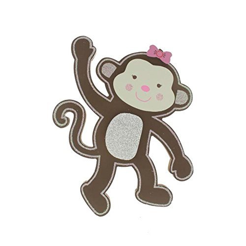 Koala Baby Girl Monkey Wood Wall Decor