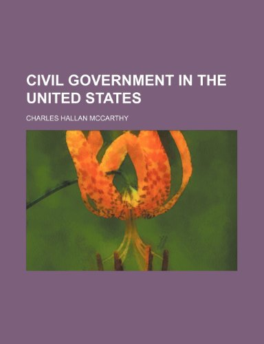 Civil government in the United States