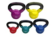 Gymenist Vinyl Coated Metal Kettle Bell