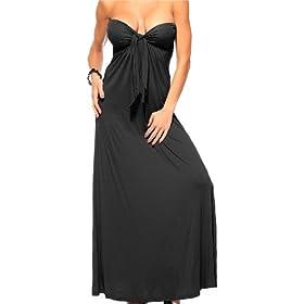 Strapless Maxi Dress on Long Boho Sun Vintage Strapless Padded Celebrity Tube Sexy Maxi Dress