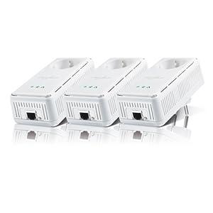 Devolo dLAN 200 Avplus Network Kit (200 MBit/s, Ethernet RJ45, Netzwerk aus der Steckdose) weiß
