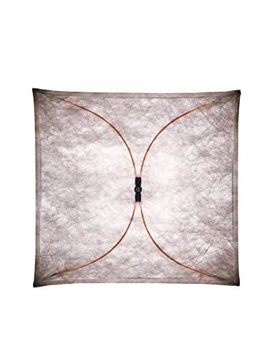 Lampada Da Parete/Soffitto Ariette 2 Tessuto Bianco 100 x 100 x 20 cm