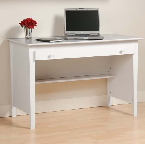 Buy Low Price Comfortable White Contemporary Computer Desk – Prepac WWD-4730 (B005PZ3ULQ)