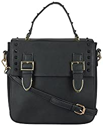 Moda King Women's Handbags (Black) (ModaKing026_A)