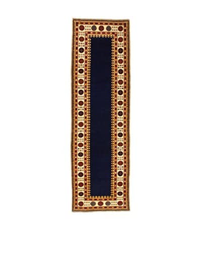 Eden Carpets Alfombra Shirvan Azul/Multicolor 320 x 98 cm