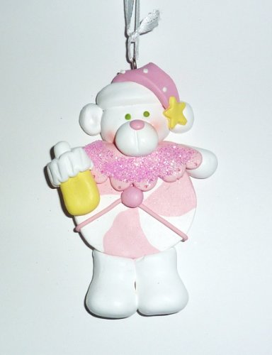 Ornament, Christmas - Baby, Pink Candy, Personalized front-717368