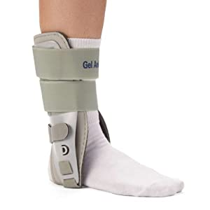 Hot Cold Therapy GEL Ankle Brace Stirrup (Left M: 7-13 W: 6-12) by gel ankle brace