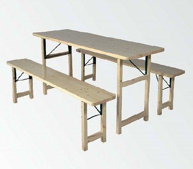 """'panche birreria pieghevole """"Bavaria II 1A birreria qualità 67cm er Set tavolo larghezza lunghezza 200cm"""