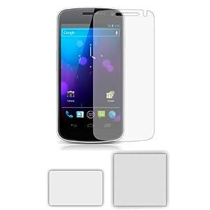 6 x Membrane Pellicola Protettiva per Samsung GT-i9250 Galaxy Nexus Prime / Google Nexus 3 III - Crystal Clear (Invisible), Antigraffio Protezione Schermo, Confezione Originale ed accessori