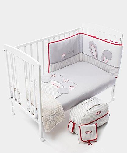 Ropa de cama para cunas 85 ofertas de ropa de cama para cunas al mejor precio - Cambiador bebe para cuna ...