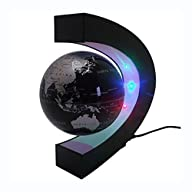 Senders Floating Globe with LED Light…