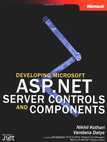 Developing Microsoft® Asp.Net Server Controls And Components (Developer Reference)