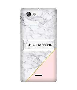Chic Happens Sony Xperia J Case