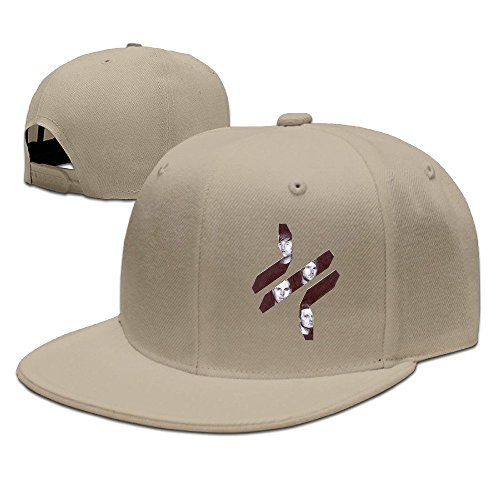thrice-logo-unisex-100-cotton-natural-adjustable-snapback-trucker-hats-one-size