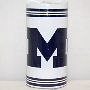 "Michigan Wolverines NCAA 6"" Big Logo LED Candle"