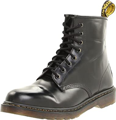 Dr Martens 1460Z Mens Lace-Up Boot / Womens Boots / Lace Boots (6 US) (Black)