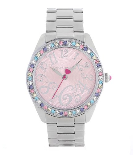 Betsey Johnson Multi Color Boyfriend Watch