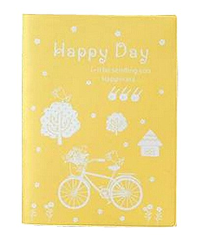 a6-cartoon-creative-notebook-diary-south-korea-stationery-color-page-book-yellow-computers-electroni