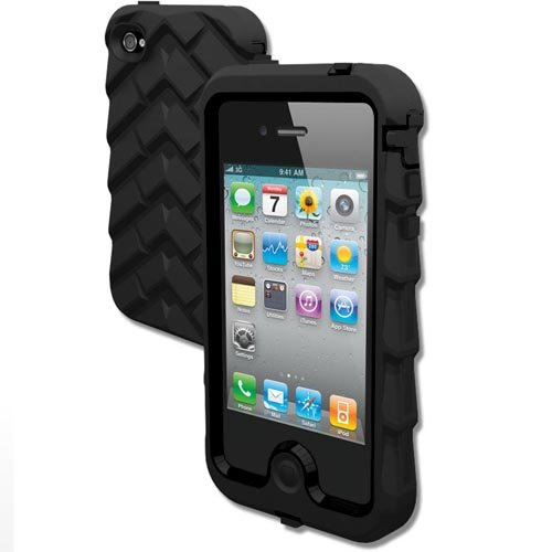 Gumdrop Cases Drop Tech Series Ultimate Protection Case For iPhone 4/4S - Black