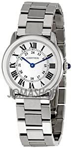 Cartier Women's W6701004 Rondo Solo Stainless Steel Bracelet Watch by Cornerwind Media