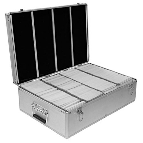 neo-media-1-x-aluminium-cd-or-dvd-storage-box-with-sleeves-holds-upto-1000-disks