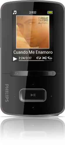 Philips GoGear Vibe 8GB MP3 Player SA3VBE08K/37