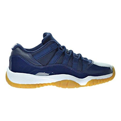 aj-mens-air-jordan-xi-retro-11-low-og-midnight-navy-blue-gum-brown-528895-405-size-105