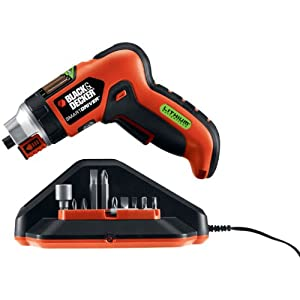 Black & Decker LI4000 3.6-Volt Lithium-Ion SmartSelect Screwdriver with Magnetic Screw Holder
