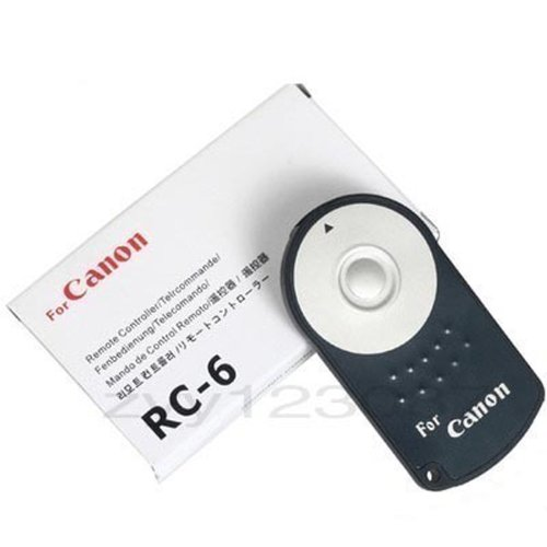 New Canon Rc-6 Remote Control(For Canon, Replaced With Rc-6, 100% Same Model) For Canon Eos 4 450D 500D 550D 600D 5Dii 60D Canon Eos 5D Mark Iii, T3I, T2I, 5D Mark Ii, 60D, T1I, 7D, Xsi, Xti, Xt ; Eos 5D Mark Ii/Eos 7D/Eos 550D/Eos 500D/Eos 450D/60D ----U