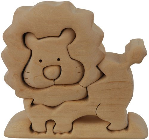 Picture of Fun ImagiPLAY 20202 Lion NaturalDream 3D Wooden Puzzle (B002HNN5XM) (3D Puzzles)