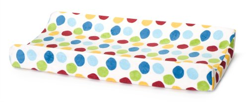 Kids Line Velour Changing Pad Cover, Animal Parade