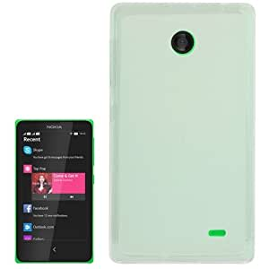 Translucent Frosted TPU Case for Nokia X / X+ (Transparent)