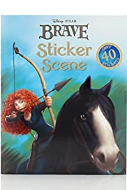 Disney Brave Sticker Scene Book [T79-6771F-S]