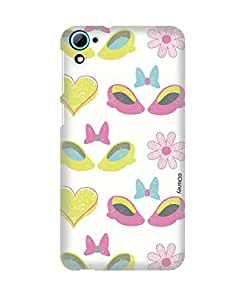 Pick Pattern Back Cover for HTC Desire 826