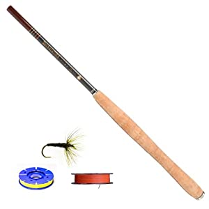 Tenkara USA Iwana (12ft.) Carbon Fiber Fly Rod and Level Line Outfit by Tenkara USA