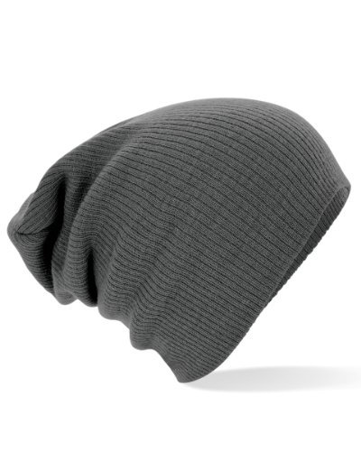 Beechfield Unisex Slouch Winter Beanie Hat (One