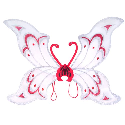 White Adult Fairy Costume Wings