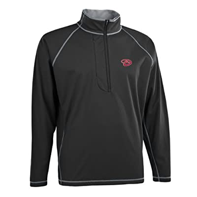 MLB Men's Arizona Diamondbacks Shadow 1/2 Zip Pullover