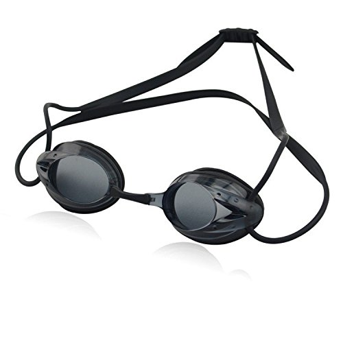 Little Cherry Adjustable Clear Lens Swimming Eyewears,Non leaking Soft Pro Performance Unisex Adult Swim Goggle with Case (Black) Alpinestars Umbrella