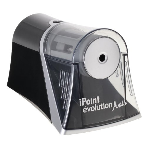 Westcott Axis Ipoint Evolution Electric Pencil Sharpener For Home Or Office (15510)