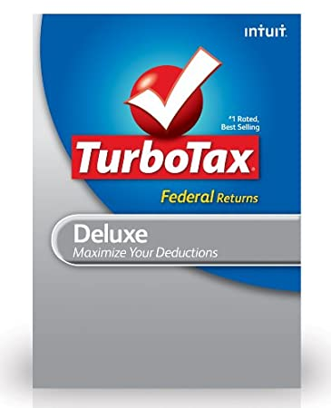 TurboTax Deluxe Federal + E-File 2012 for PC [Download]
