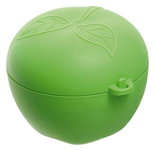 Rotho 1748205507 Contenitore porta mela - in plastica (PP) - privo di BPA e sostanze nocive - prodotto in Svizzera - verde