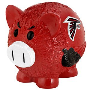 NFL Atlanta Falcons Resin Large Thematic Piggy Bank - 1