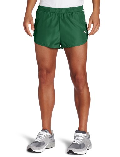 PUMA Puma Men's Tb Running Split Shorts (Evergreen, Medium)
