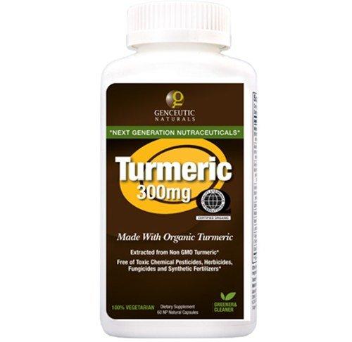 Turmeric Organic 300mg 60 Capsules