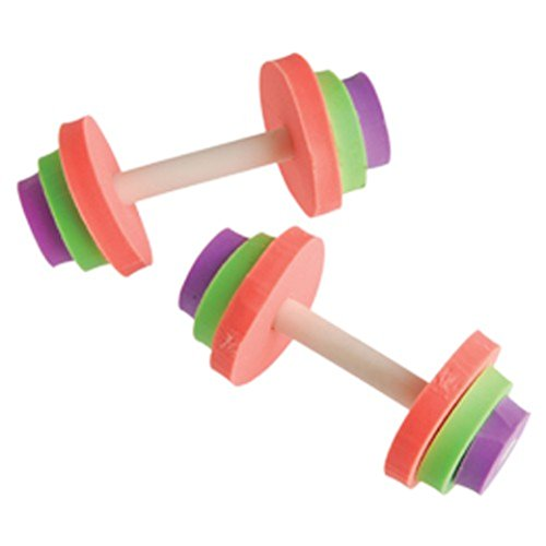 One Dumbbell Weight Lifting Theme Erasers