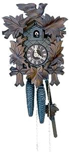 Schneider Black Forest 13 Inch Antique 8 Day Movement Cuckoo Clock from Schneider