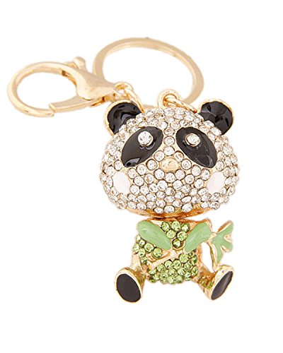 Young & Forever Republic Deal Parade Special Bling Bling Mr Green Panda Bag Charm Key Ring & Key Chain By CrazeeMania...