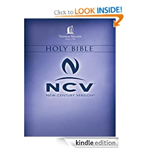 Holy Bible NCV - Thomas Nelson